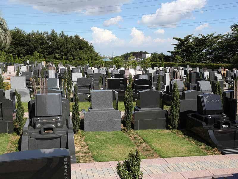 横浜二俣川霊園 日当たりが良く明るい墓域