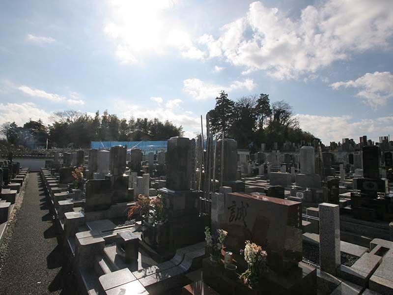 湘南泉霊園 陽当りのよい墓域