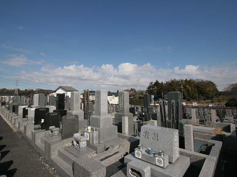 湘南泉霊園 墓域から見える穏やかな景色