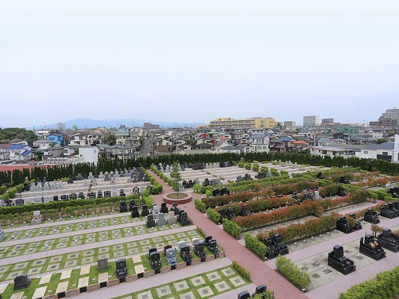 綾瀬蓼川霊園 天空の郷 平坦で解放感がある公園墓地
