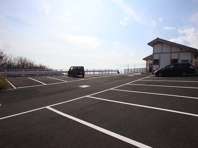 空と海 新・吉祥公園墓地 平置きで停めやすい駐車場