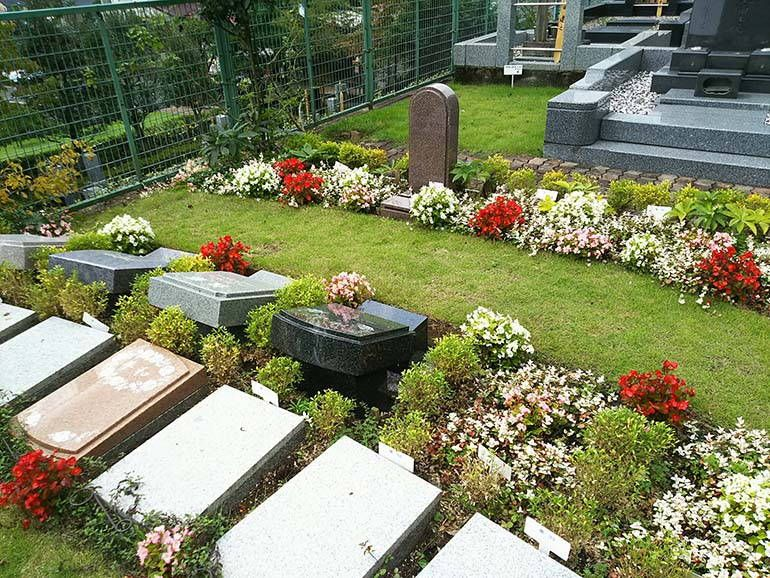 西東京墓苑 美しい草花に囲まれた墓域②