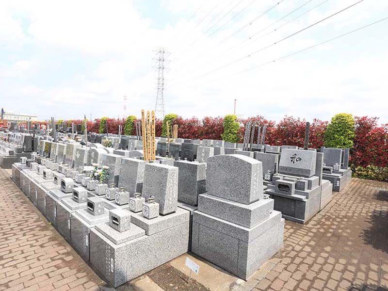 朝霞聖地霊園 洋型墓石