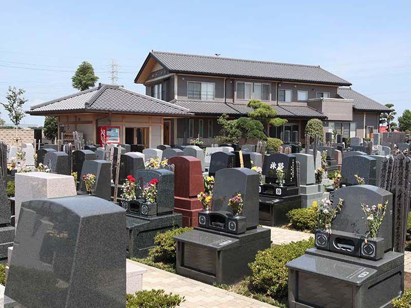平塚中央霊園Ⅱ 丁寧に管理された墓域