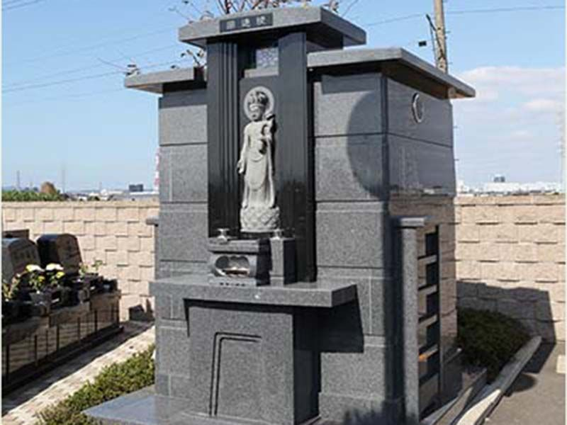 平塚中央霊園Ⅱ 霊園をみまもる仏様