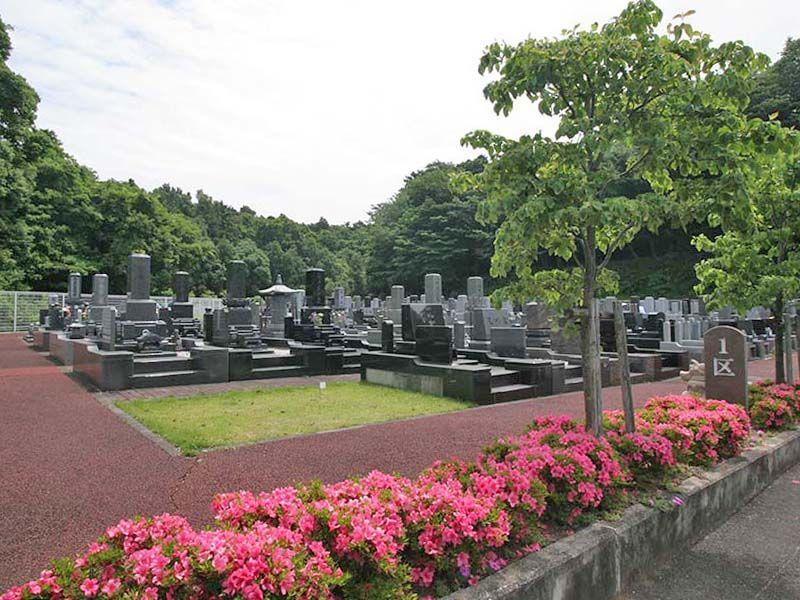 県央綾瀬霊園 つつじの咲く墓域