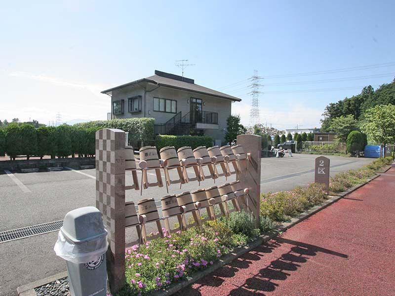 県央綾瀬霊園 参拝道具も完備