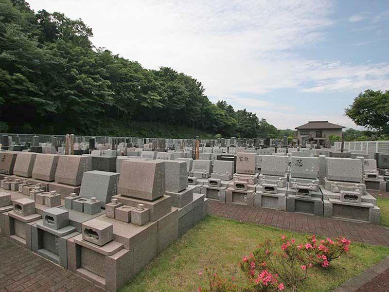 県央綾瀬霊園 開放感のある墓域