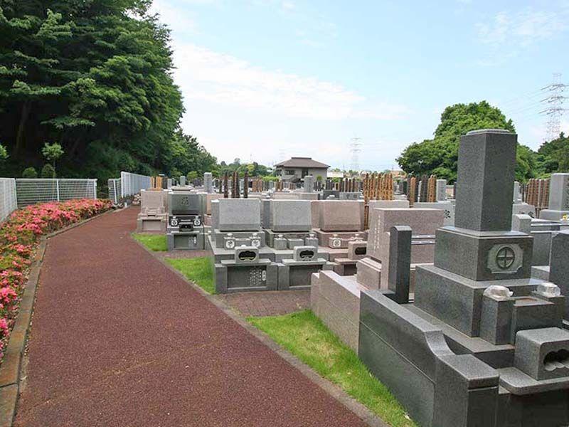 県央綾瀬霊園 日当たりのよい墓域