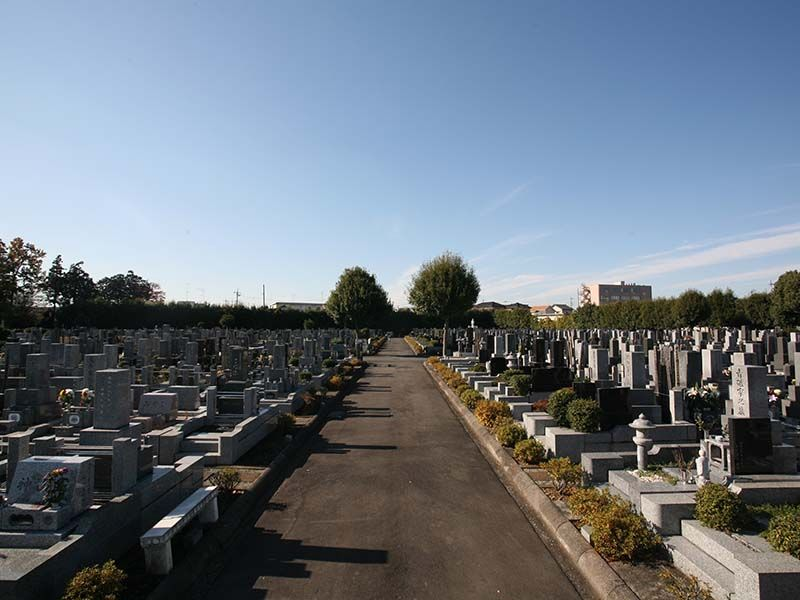 仏子聖地霊園 開放的な墓域