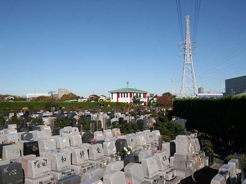 座間霊園 天空の郷 和洋折衷墓石