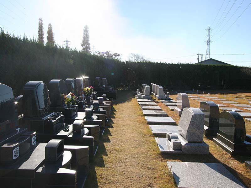 座間霊園 天空の郷 日当たりの良い墓域