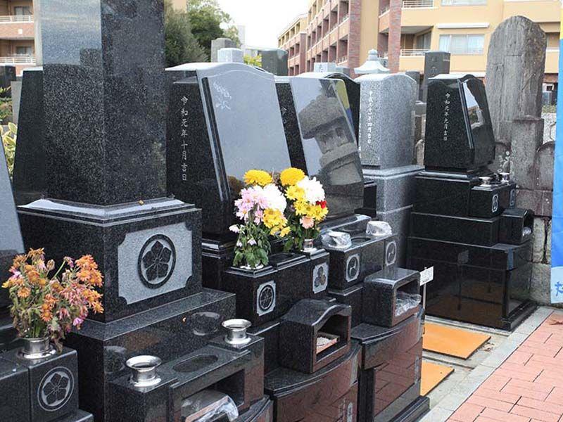 ひばりが丘浄苑 和型・洋型墓石