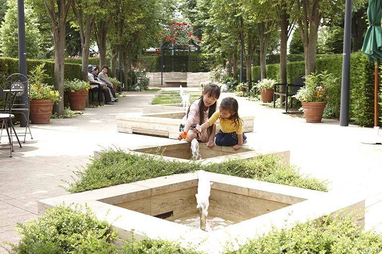 花小金井ふれあいパーク まるで公園のようなパーク内
