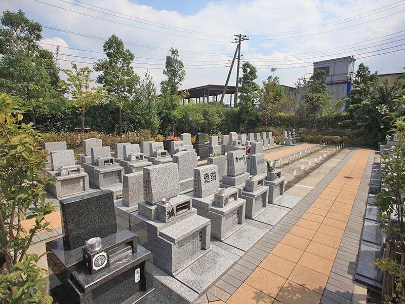 朝霞フォーシーズンメモリアル 日当たりの良い墓域