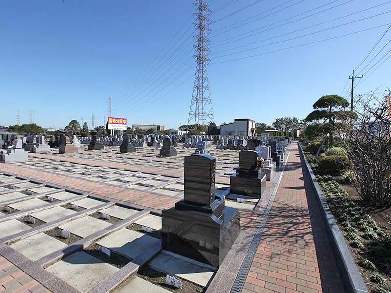 駅前霊園美南 日当たりの良い墓域