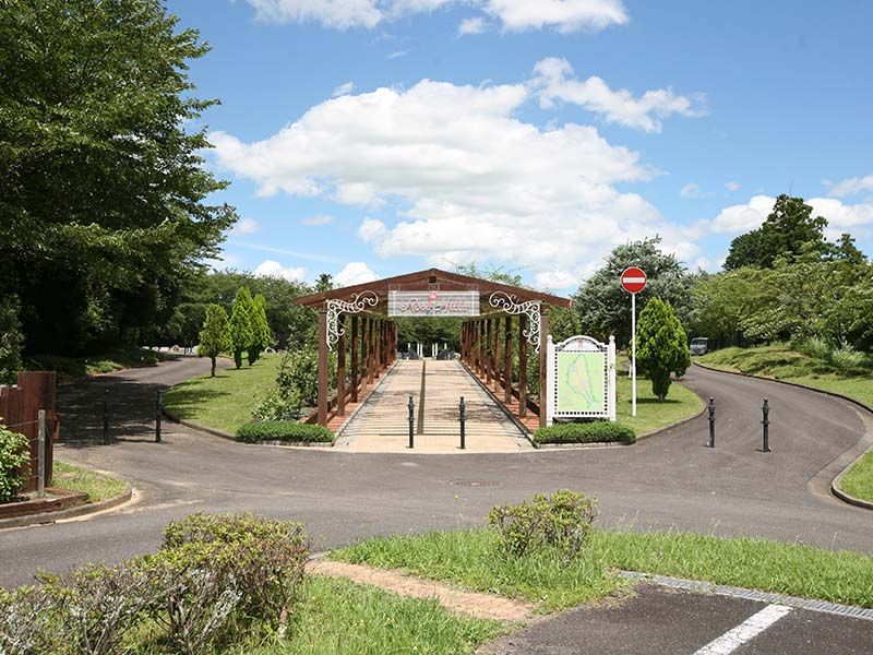 成田メモリアルパーク 植栽が美しい園内