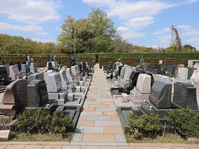 新ゆり天望の丘墓苑 洋型墓石