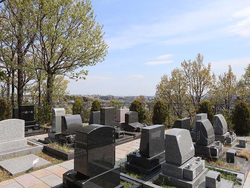 新ゆり天望の丘墓苑 眺めの良い環境