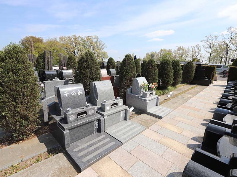 新ゆり天望の丘墓苑 緑地付き墓所