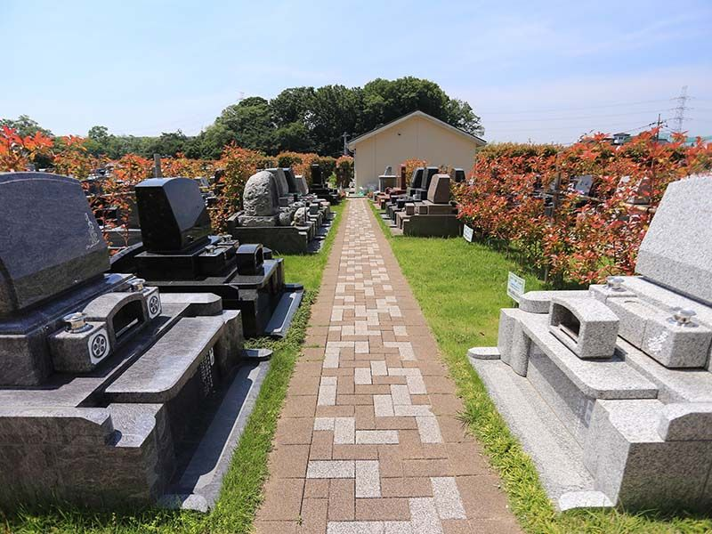 あざみ野浄苑 悠久の丘 洋型墓石