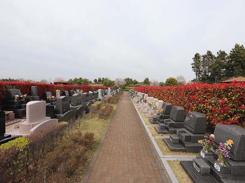 アドミール座間 霊園内は全て平坦なバリアフリー