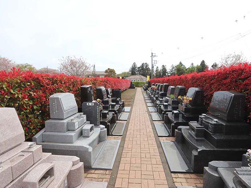 アドミール座間 日当たりの良い墓域