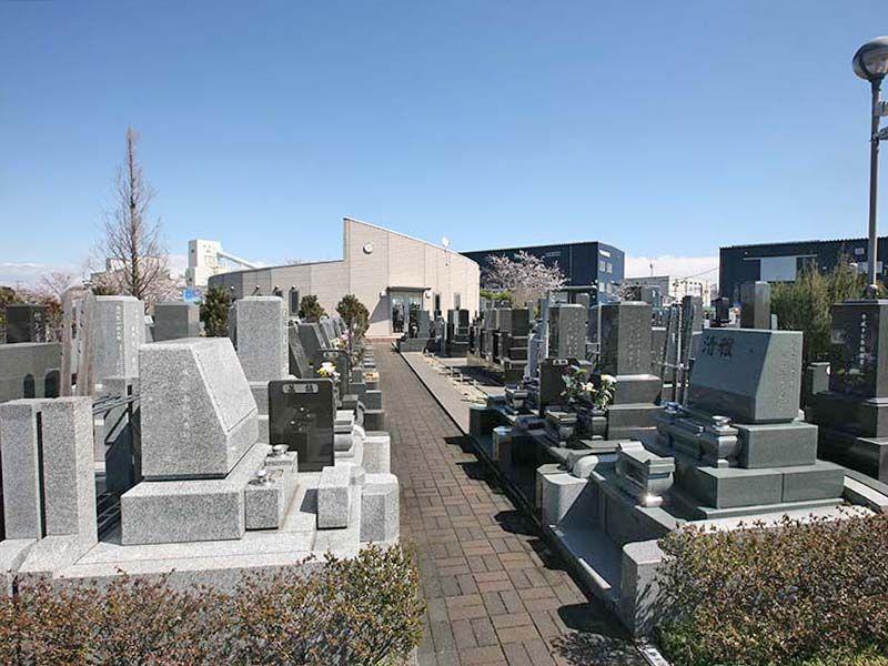 大宮霊園 園内はバリアフリー設計