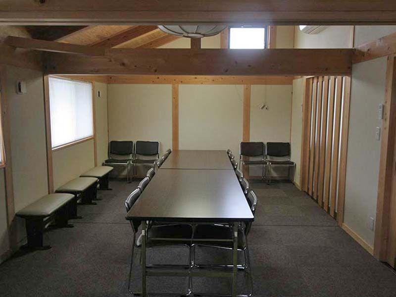 川崎清風霊園 管理棟内の多目的ホール
