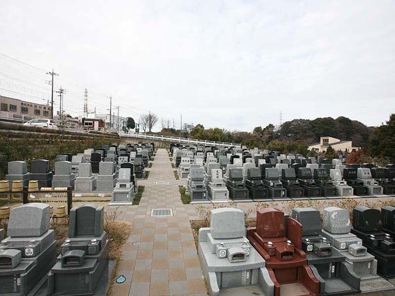 川口霊園かわぐちの杜の一般墓区画の風景