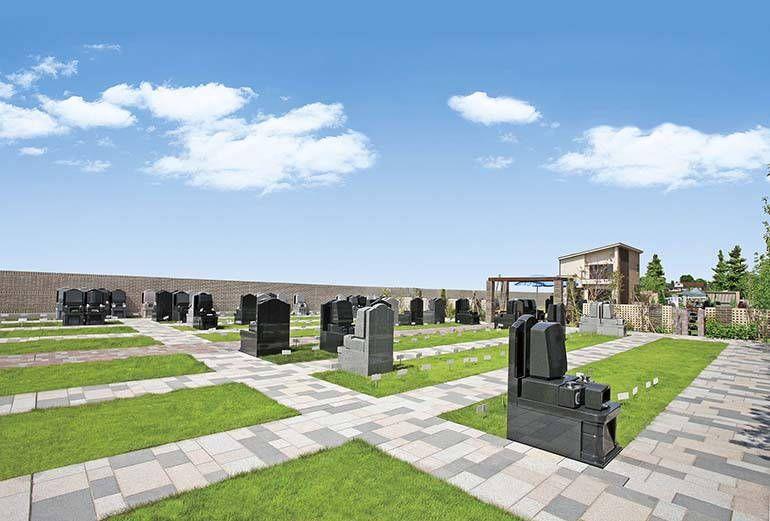 三鷹メモリアルグランデ 明るい雰囲気の墓地