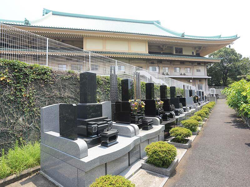 大本山 總持寺(総持寺) 和型墓石