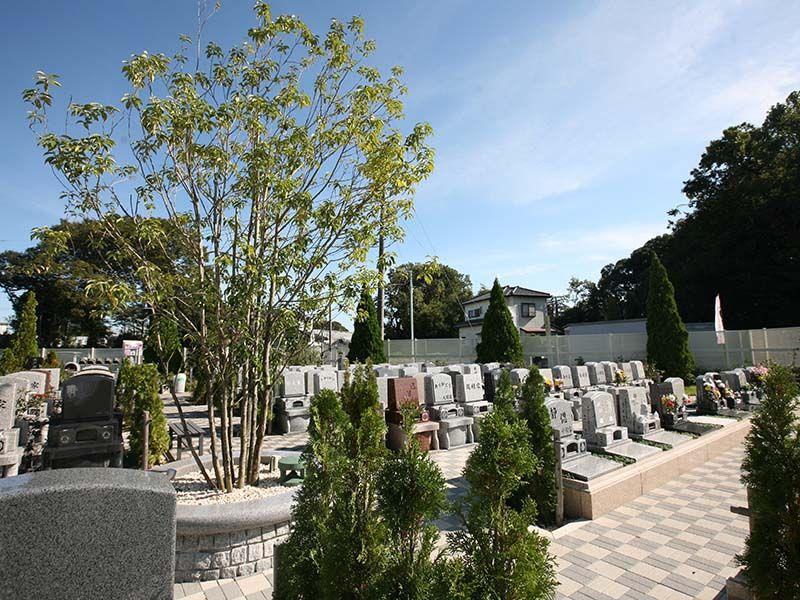 染谷の里 大宮四季彩霊苑 緑豊かなテラス墓所