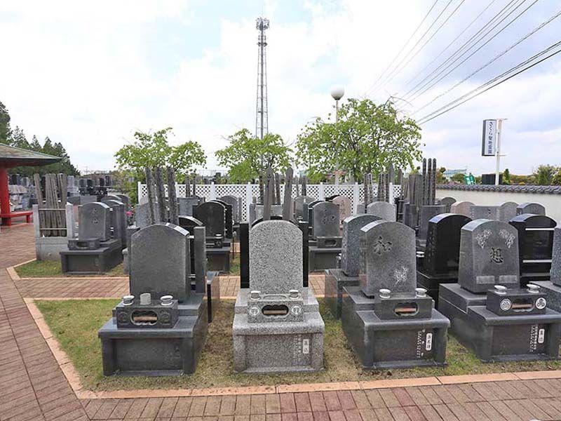 さくら聖地霊園 日当たりの良い墓域