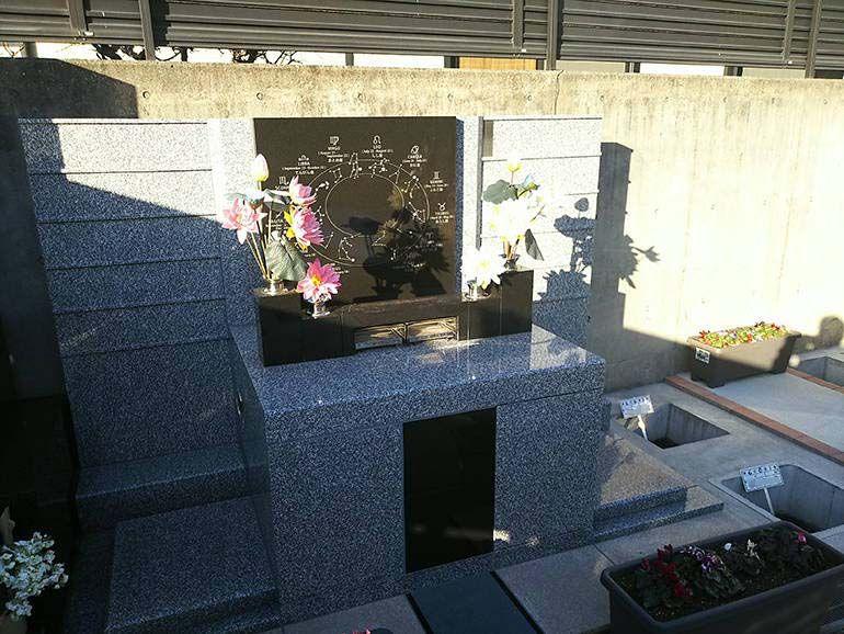 公園墓地 瑠璃光苑 手入れの行き届いた永代供養墓