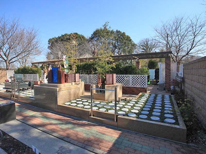 野田さくら霊園 明るい雰囲気の樹木葬
