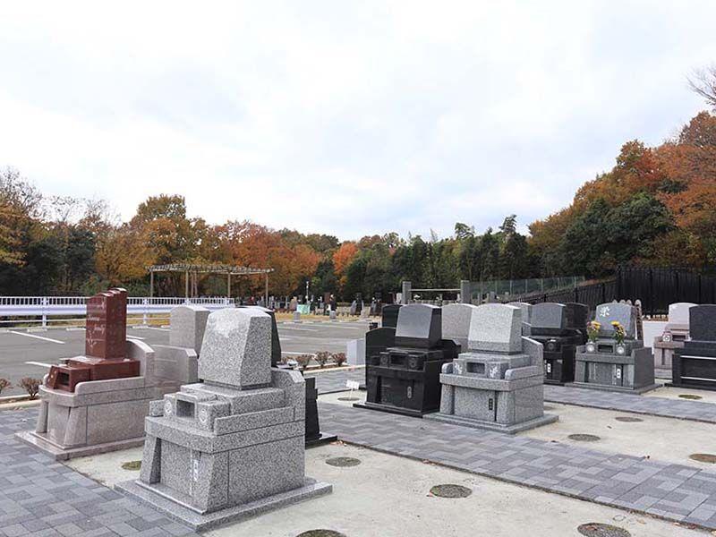メモリアルパーク厚木ふるさとの丘 広々とした墓域