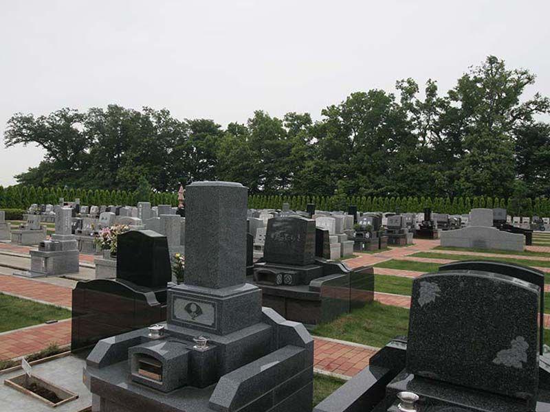 南川越霊園 和型・洋型墓石