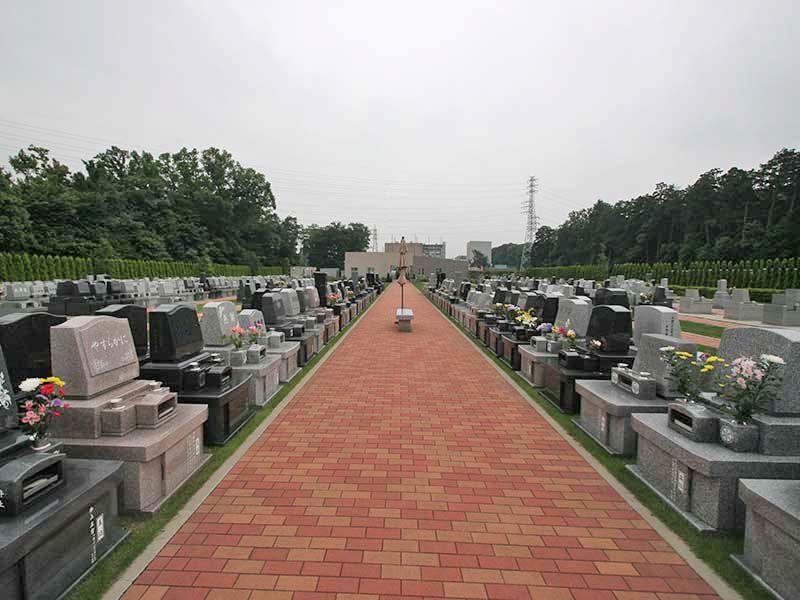 南川越霊園 デザインガーデン墓所