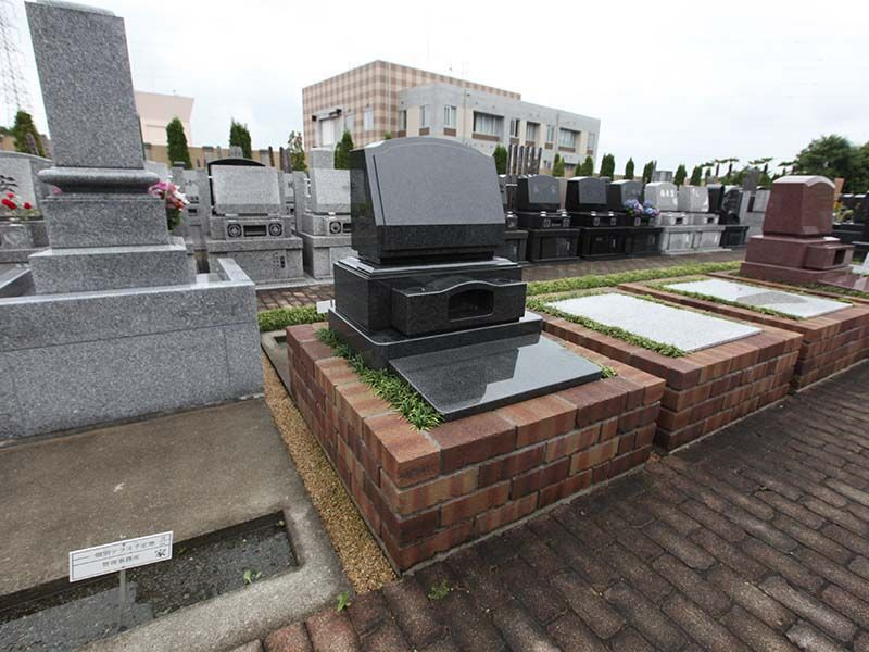 南大沢霊園の墓石サンプル