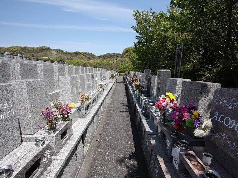 やすらぎの里 南葉山霊園 自然豊かな一般墓所