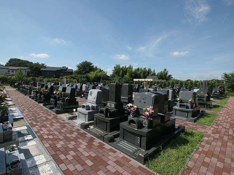 むさしの聖地 永久の郷 日当たりの良い墓域