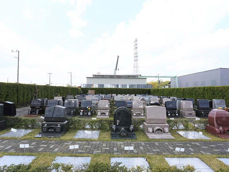 メモリアル越谷 憩いの郷 デザイン豊富な洋型墓石