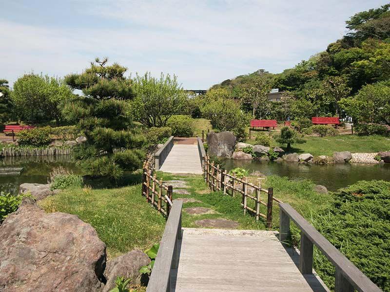 三浦霊園 日本庭園風の庭園墓地