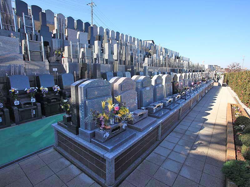 横浜中央霊園 複数の区画タイプから選べる墓所