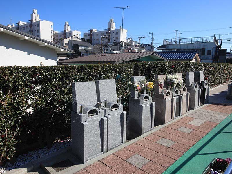 横浜中央霊園 コンパクト型の0.2㎡完成墓所
