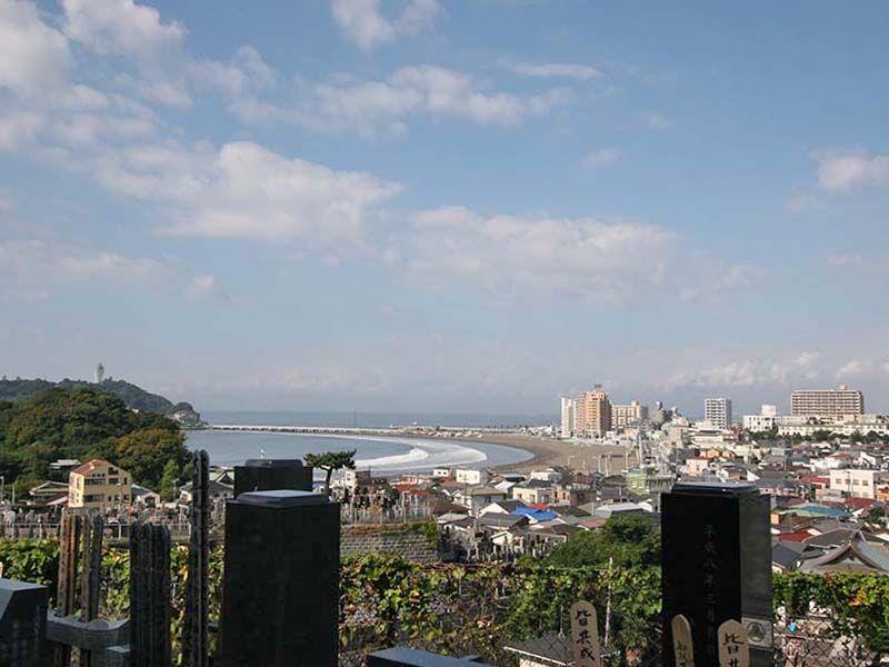 鎌倉富士見墓苑 墓域から見える景色①