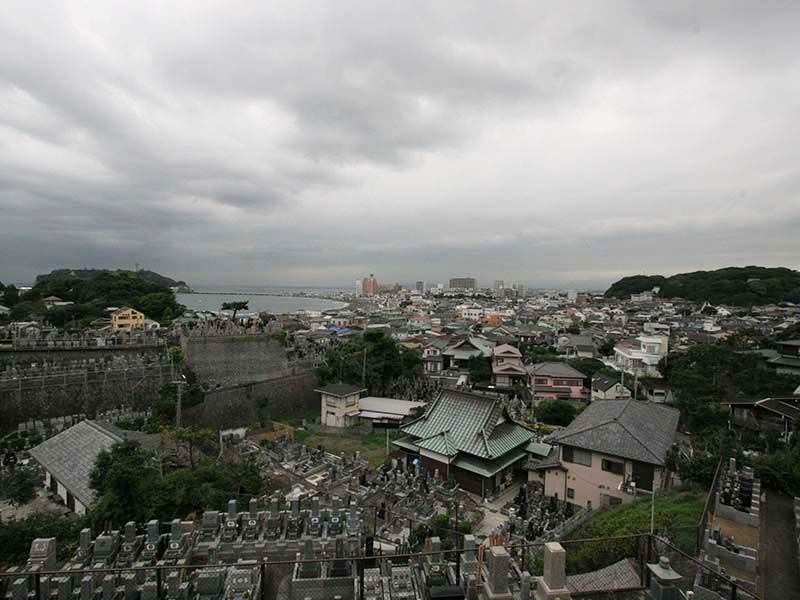 鎌倉富士見墓苑 墓域から見える景色②