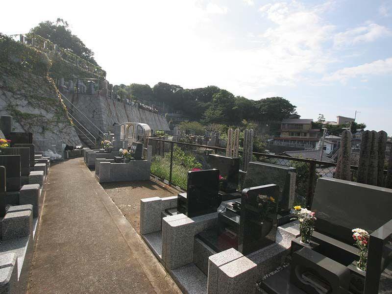 鎌倉富士見墓苑 日当たりの良い明るい墓域②