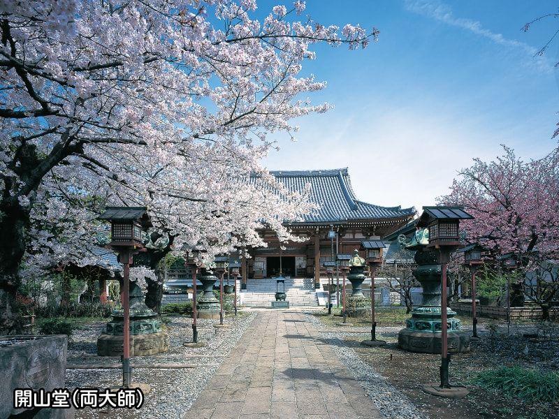 寛永寺谷中霊園内の開山堂